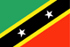 Saint Kitts e Nevis Flag