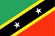 Saint Kitts e Nevis Flag